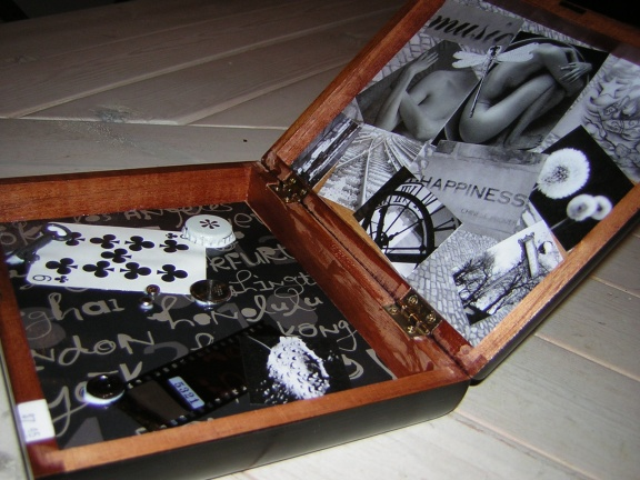 Recycled craft ideas think crafts by createforless for Cardboard cigar box crafts