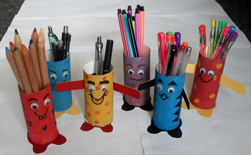 Penpals think crafts by createforless for Where to buy cardboard tubes for craft