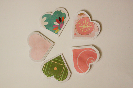 Heart Bookmarks at ThinkCrafts.com