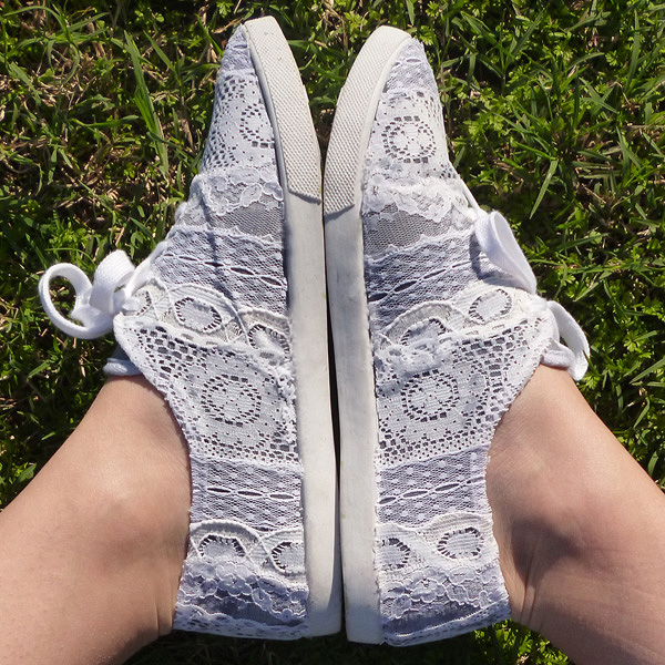 Lace Tennies