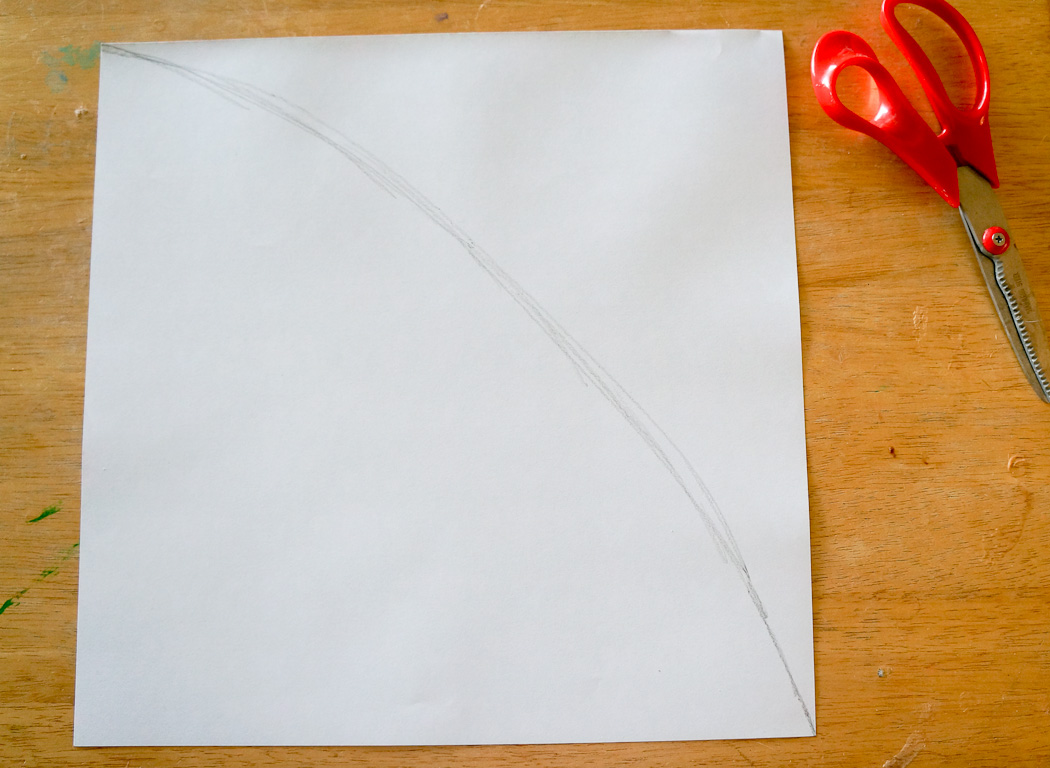 Draw an Arch On Your Paper