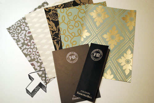 free farrow and ballinspiration and color guide and wallpaper samples with arrow