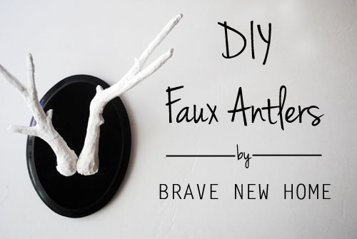 Faux antlers think crafts by createforless for Fake deer antlers for crafts