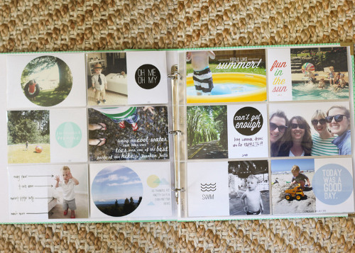 Project Life Layout by Erin at ThinkCrafts.com