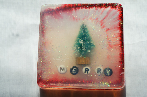 DIY Winter Soap Scenes for the Holidays