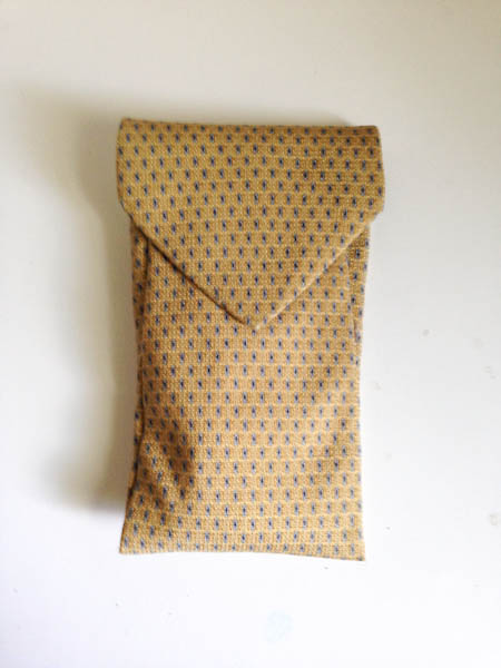 Glasses Case From a Tie