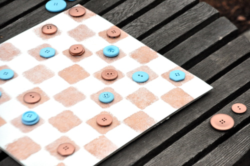 DIY Checkers Game