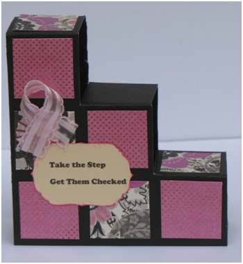 Take the Step Breast Cancer Awareness Card