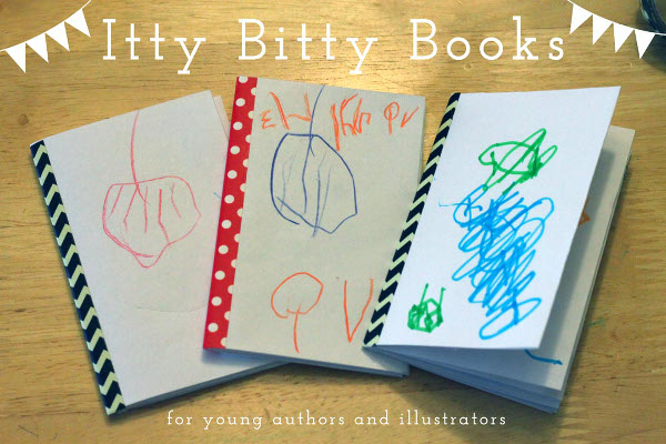 Itty Bitty Books for Young Authors and Illustrators