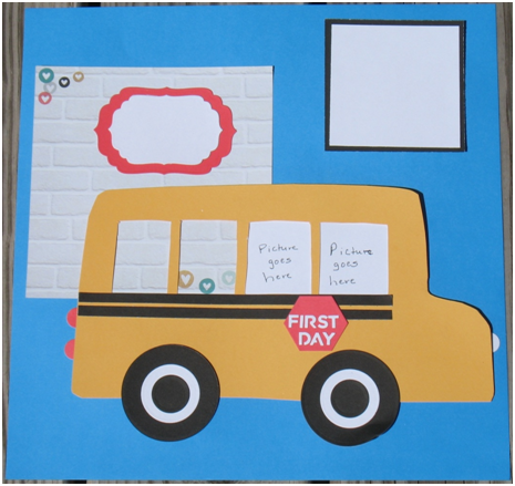 The Wheels on the Bus First Day of School Layout