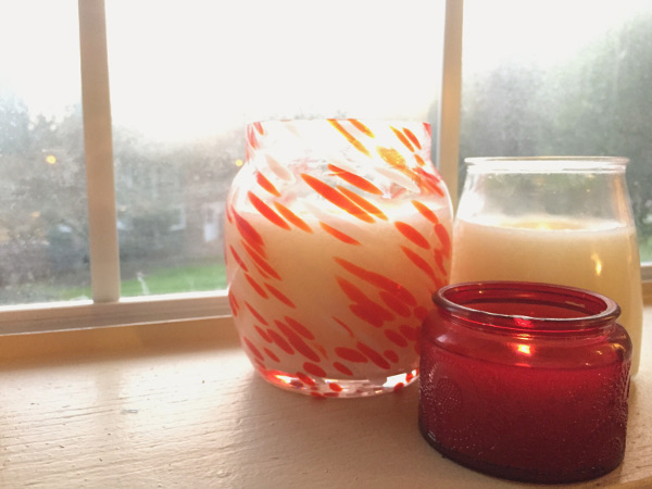 No Wax Recycled Candles