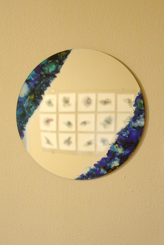 DIY a statement making mirror in no time with this fun tutorial.