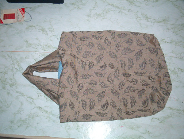 Sew your own reusable grocery bag with your favorite fabric