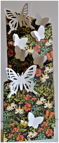 Make a gorgeous butterfly card for any occasion