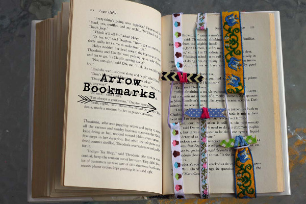 Keep the exact place in your book with these fun and colorful bookmarks.