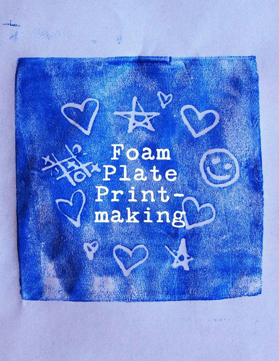 Make fun prints from recycled materials!